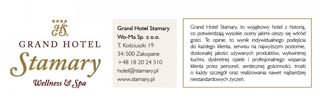 Grand Hotel Stamary, Wo-Ma Sp. z o.o.