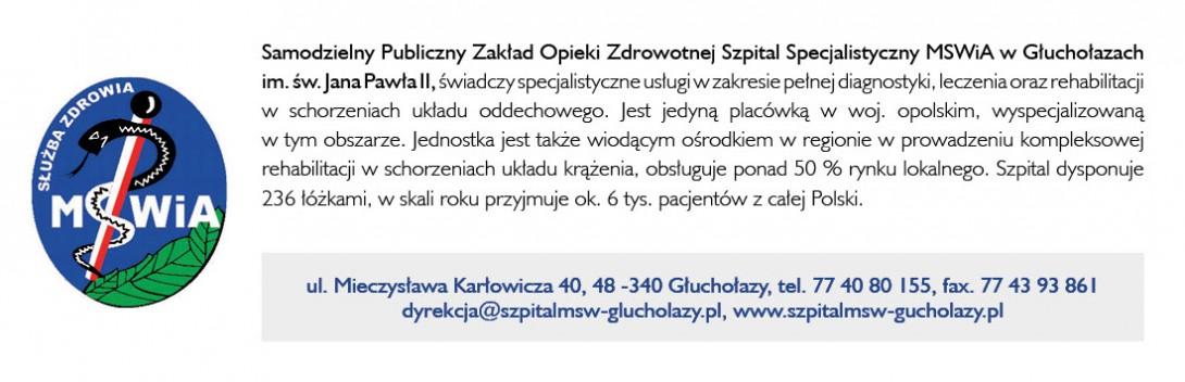 SP ZOZ Szpital Specjalistyczny MSWiA w Głuchołazach im. św. Jana Pawła II